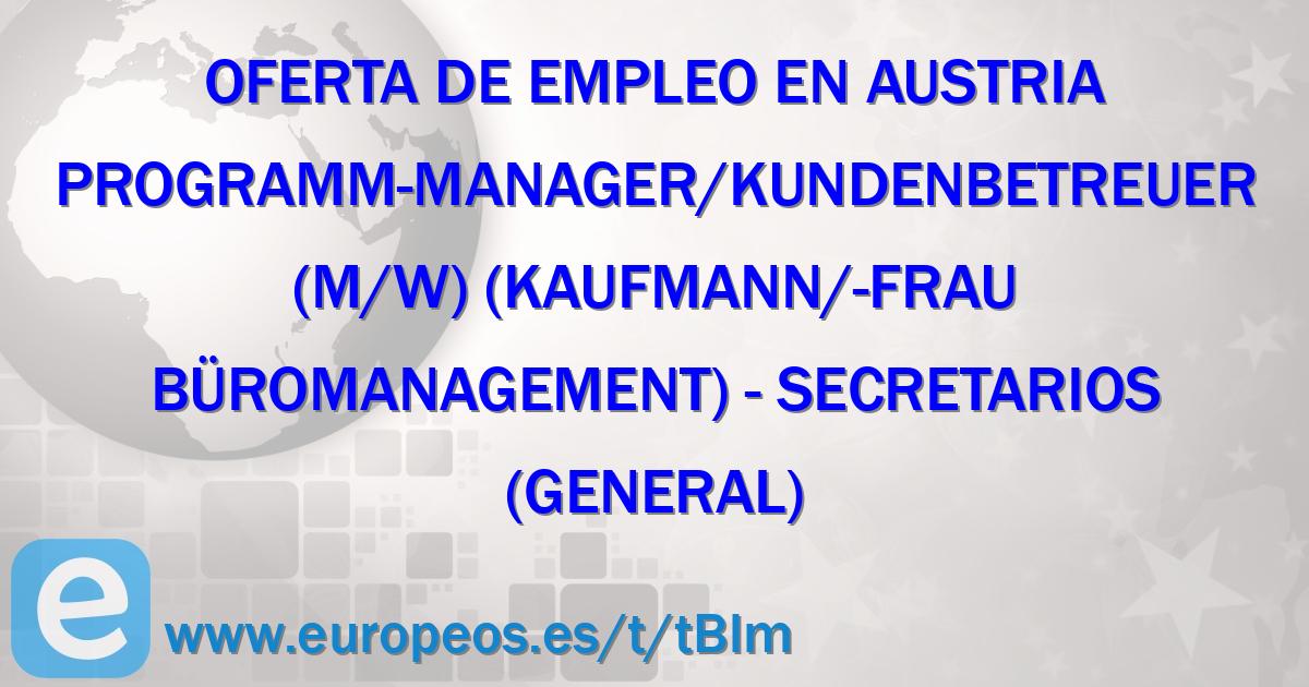 Trabajo de Secretarios (general) en Austria (21 de Julio de 2018)